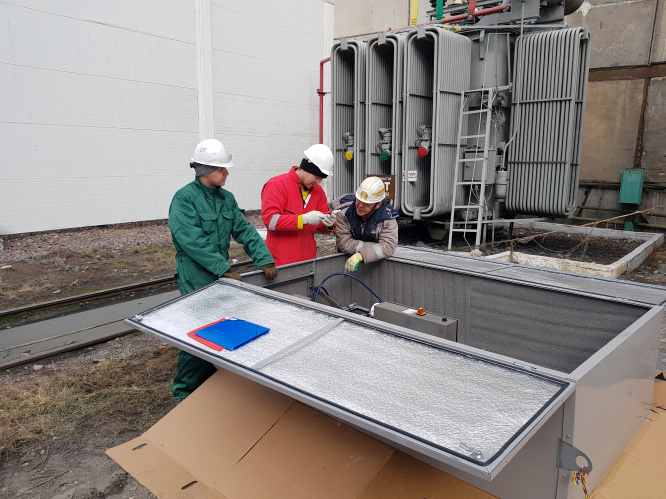 The first Transec unit has been installed in Kazakhstan and Central Asia by Streamer