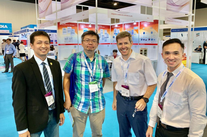 Streamer presented new products in the  Asian Utility Week 2019