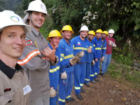 Streamer Line Lightning Protection Devices Installed in Brazil